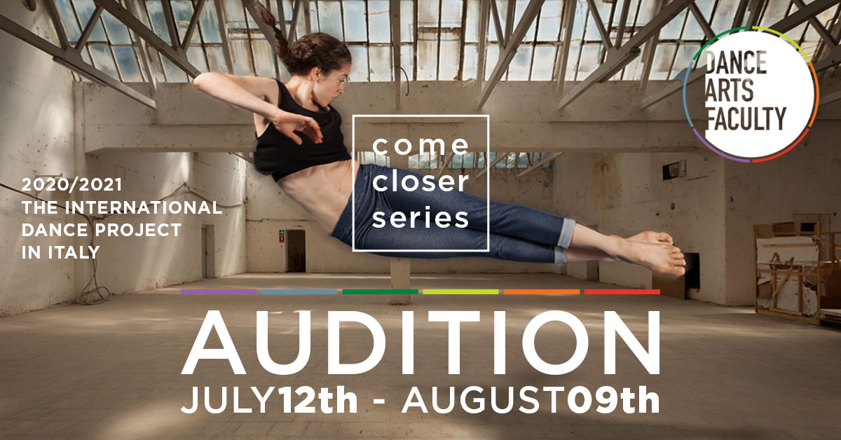 AUDITION 2020/2021 – THE INTERNATIONAL DANCE PROJECT IN ITALY